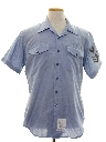 Mens Navy Issue Chambray Shirt