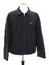 Mens Gas Station Zip Work Jacket
