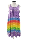 Womens A-Line Hawaiian Coverup or Sun Dress