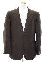 Mens Sharkskin Disco Blazer Sport Coat Jacket