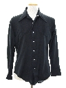 Mens Disco Style Western Shirt