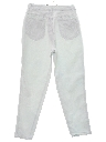 Womens Totally 80s High Waisted Denim Jeans Pants