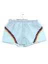 Mens Totally 80s Rainbow Sport Short Shorts