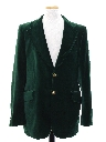 Mens Mod Velvet Blazer Smoking Style Sport Coat Jacket
