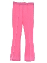 Womens Knit Flared Leisure Pants