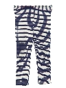 Womens Plaid Knit Leisure Style Pants