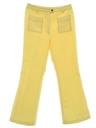 Womens Mod Knit Bellbottom Style Flared Pants