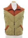 Unisex Totally 80s Ski Vest Jacket