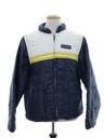 Mens Totally 80s Racing Style Ski Jacket