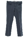 Mens Jeans-Cut Straight Leg Pants