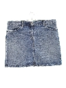 Womens Wicked 90s Mini Denim Jean Skirt