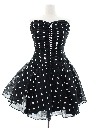 Womens Designer Totally 80s Prom Mini Dress