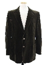 Mens Velvet Blazer Sport Coat Jacket