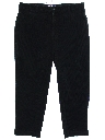 Mens Wide Leg Corduroy Pants