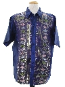 Mens Ethnic Hippie Style Club or Rave Shirt