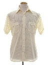 Mens Sheer Sport Shirt