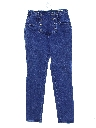 Womens Western Denim High Rise Jeans Pants
