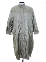 Womens Totally 80s Asian Inspired Overcoat Rain Jacket