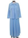 Womens Mod Knit Two Piece Dress