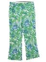 Womens Hippie Style Mod Capri Pants
