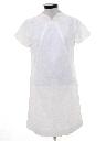 Womens Mod A-Line Knit Dress