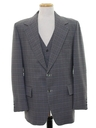 Mens Two Piece Disco Blazer Style Sport Coat Jacket