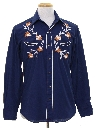 Mens Embroidered Rodeo Style Western Shirt