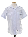 Mens Navy Issue Work Shirt