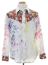 Mens Western Hippie Shirt