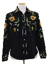 Mens Hippie Style Western Rodeo Shirt