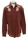 Mens Hippie Style Western Shirt