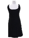Womens/Girls Little Black Mini Dress