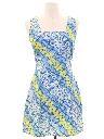 Womens Hawaiian Mini Dress