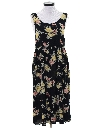 Womens Rayon Print Dress