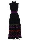 Womens or Girls Hippie Maxi Dress