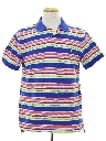 Mens Totally 80s Style Polo Shirt