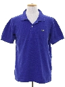 Mens Totally 80s Style Izod Polo Shirt