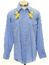 Mens or Boys Hippie Western Shirt