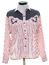 Womens Totally 80s Rodeo Style Western Shirt