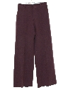 Womens Wool Bellbottom Pants