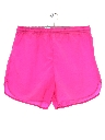 Unisex Neon Totally 80s Shorts