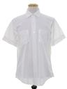 Mens Solid Mod Shirt