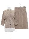 Womens Mod Knit Suit