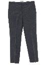 Mens Mod Flat Front Pants