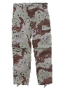 Mens NATO Uniform Camouflage Pants
