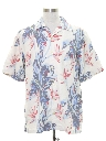Mens Silk Tommy Bahama Hawaiian Shirt