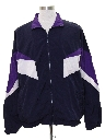 Mens Windbreaker Style Track Jacket