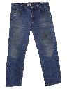 Mens Grunge Levis 501 Denim Jeans Pants