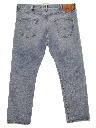 Mens Grunge Levis 501s Straight Leg Denim Jeans Pants