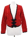 Womens Totally 80s Silk and Angora Sweater